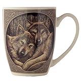 Puckator Lisa Parker MULP23 Tasse, Wolfsmotiv, 8x12x10cm