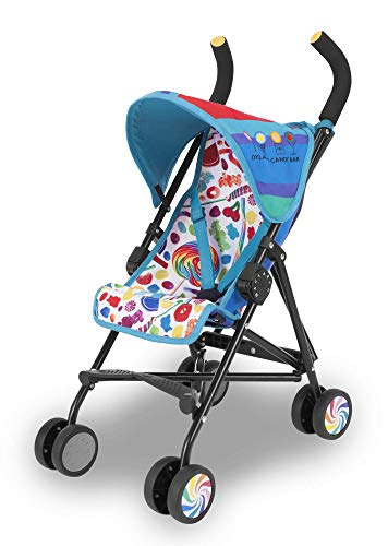 Maclaren Junior Quest Dylan's Candy Bar. Toy stroller fits doll up to 46cm. One time assembly. Baby doll pushchair suitable for children 3 years and up