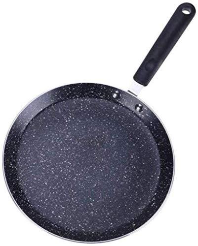 teppanyaki Grill, Multi Sectie Verdeeld Niet Stick Koekenpan, Alles in 1 Pan, Perfect voor Grote Maaltijden & Bak Ups door Layer Cake Medical Stone Baking Mold Pizza Plate, Zwart, 16cm