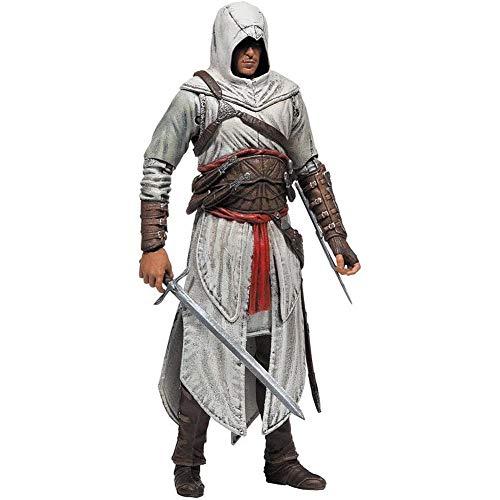 MXUS 18Cm Assassin's Creed Ezio Action Figure, Giocattolo Handmade PVC di Protezione Ambientale di Alta qualità, Adatto per La Raccolta Hobbistica