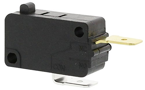 Edgewater Parts W10269458 Microwave Door Switch Compatible with Whirlpool, Maytag, Amana, KitchenAid, Jenn-Air, and Estate