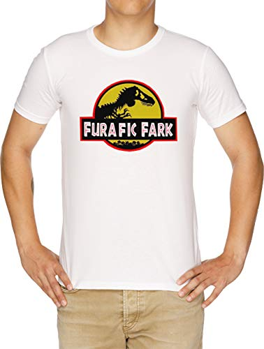 Furafic Fark Camiseta Hombre Blanco