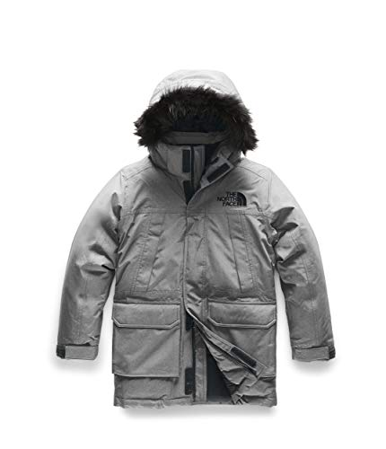 The North Face Youth McMurdo Down Parka, TNF Medium Grey Heather, M