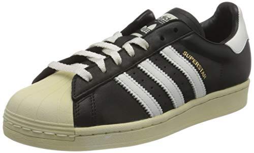 adidas Superstar, Sneaker Hombre, Core Black/Crystal White/Blue, 41 1/3 EU
