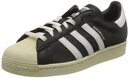adidas Superstar, Sneaker Hombre, Core Black/Crystal White/Blue, 42 EU
