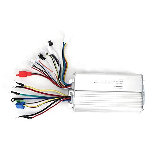 Brushless Controller, 48V/64V 31A 500W Universal Brushless Controller for 3-Phase Line Sensor Electric Bicycle Scooter IP55 Waterproof