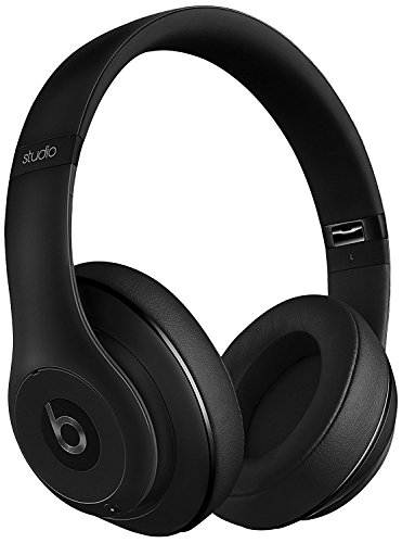 Dr dre beats Studio 2 Wireless Over-Ear Noise Cancelling Headphones - Matt Black (Matt Black)