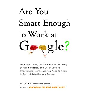Are You Smart Enough to Work at Google? audiobook cover art