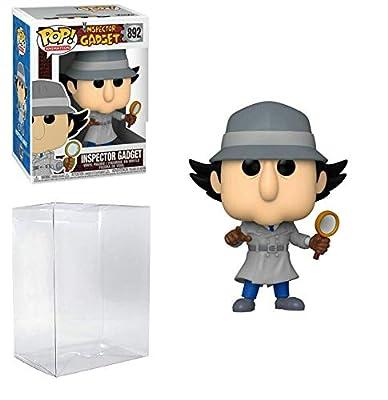 Inspector Gadget Pop #892 Pop Animation: Inspector Gadget Vinyl Figure (Bundled with EcoTEK Plastic Protector to Protect Display Box) from Funko