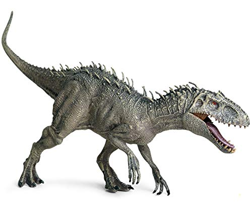 Gemini&Genius Indominus-Rex Dinosaurs Action Figure Jurassic Park Dinosaur World Science Education and Collection Dino Model Toy Christmas and New Year Kids Gifts (D-Rex)
