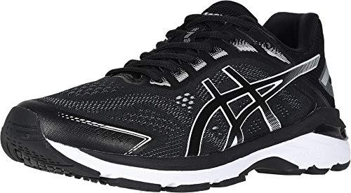 ASICS Men's GT-2000 7 (4E) Running Shoes, 11.5XW, Black/White