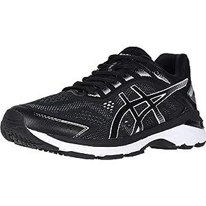 ASICS Men's GT-2000 7 Running Shoes, 11.5, Black/White
