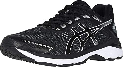 ASICS Men's GT-2000 7 (4E) Running Shoes, 8.5XW, Black/White