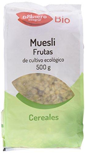 El Granero Integral Muesli Frutas Biologico 500 gr