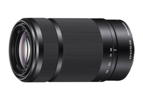 Sony E 55-210mm F4.5-6.3 Lens for Sony E-Mount Cameras (Black)