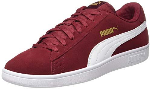 Puma Smash V2 Sneaker Unisex - Adulto, Rhubarb/Puma Team Gold/Puma White 29), 37 EU