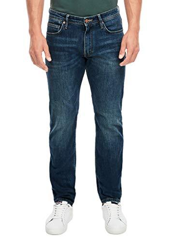 s.Oliver Herren Regular Fit: Tapered leg-Jeans blue 36.32