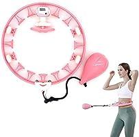 Owutong Smart Hula Hoop, Verstelbare Maat 360 ° Auto-Spinning Hula Hoop, Niet Dropping Hula Hoop met Teller, Fitness...