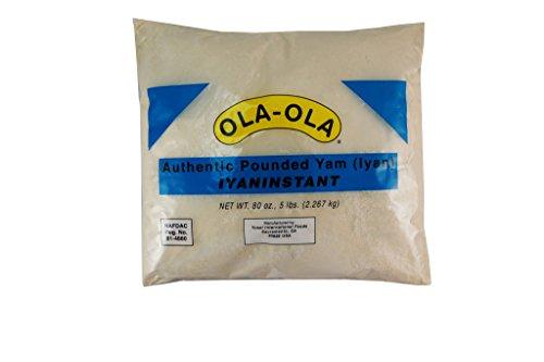 Pounded Yam, Ola Ola - 4 lbs - $5.25 per lbs