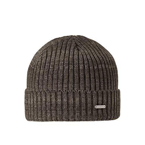 Stöhr Mütze FEZ Braun/Melange