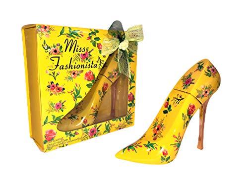 Miss Fashionista. Eau de Parfum para mujer. 100 ml. Vaporizador. (Amarillo)