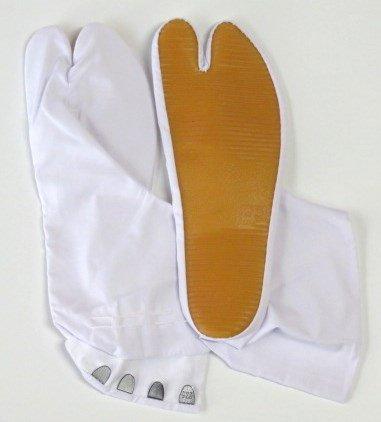 祭り足袋白 祭地下足袋 祭り足袋 ゴム底足袋 白 (21.0)