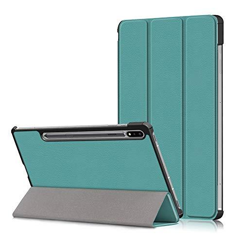 KATUMO Funda para Samsung Galaxy Tab S7 Carcasa Tablet S7 11pulgadas 2020 con Soporte Funcion Despertador Automático Fundas SM-T870/T875 Protector de Tableta