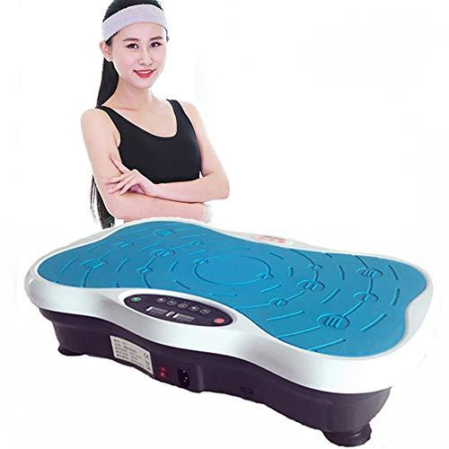 YAMMY Fitness Vibration Maschine Für Den Heimgebrauch, Mit LED-Display-Fernbedienung Vibrations Fitness PowerfulMagnetic Therapie Massage Für Weight Loss & Body Toning