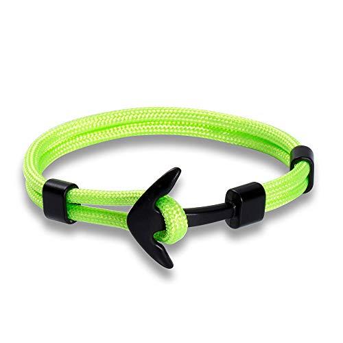 NKSS Mens Bracelets Bracelets For Men Anchor Bracelets Stainless Steel Male Wrap-A4_21Cm