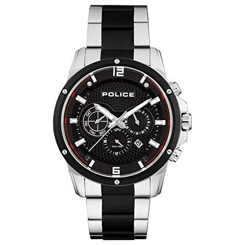 Police 15525JSTB-02M Reloj de Hombres