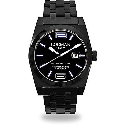 Reloj Mecánico Mujer locman Stealth Casual COD. 0205bkbkfbl0brk