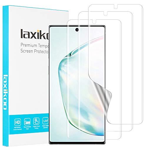 laxikoo Pellicola Protettiva per Samsung Galaxy Note 10 Plus 5G /Note 10+, [3 Pezzi] HD Trasparente Morbido TPU Pellicola Samsung Note 10 Plus Proteggi Schermo...