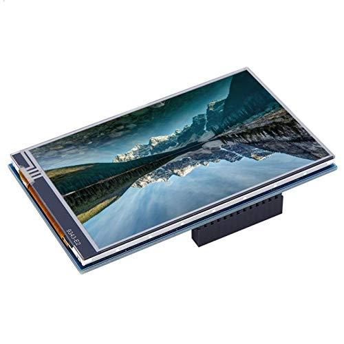 Byged Monitor für Raspberry Pi, 4,0-Zoll HDMI kapazitiver IPS Touch Monitor 800 * 480 HD LCD Display, Bildwiederholfrequenz 60 FPS, Stabil und Flüssig Tragbares Display