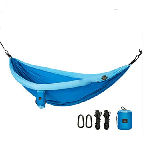 Naturehike Hammock Tent Camping Double Hammock For Backpacking Survival Travel Portable Lightweight Parachute Nylon NH18D002-C