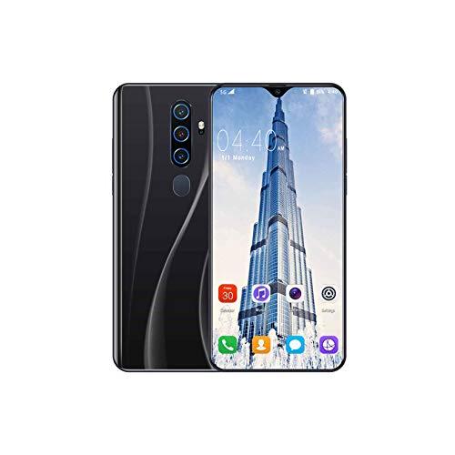 YINxy Smartphone Sin Sim con Pantalla FHD + 6.3 Pulgadas, Teléfono Móvil Five Al Cameras, Android 10, 4G Dual SIM
