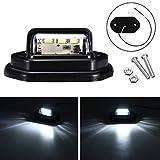 FATO. 12V LED plaque d'immatriculation Éclairage intérieur lampe étape pour voiture camion remorque Pickups RV