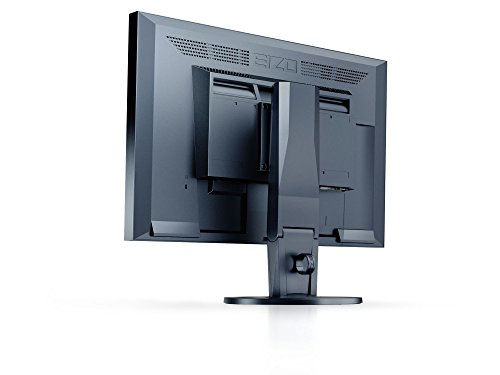 EIZO FlexScan EV2216WFS3-BK 56 cm (22 Zoll) Monitor (DVI-D, D-Sub, USB 2.0 Hub, DisplayPort, 5 ms Reaktionszeit, Auflösung 1680 x 1050) schwarz