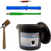 pasta de montaje neumáticos negro 3kg I destornillador de válvula + extractor de válvula I palanca de válvula en el plató