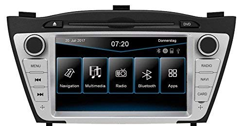 ESX   Hyundai iX35   2-DIN Autoradio mit Navigation   VN720 HY-iX35
