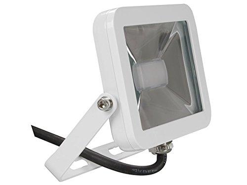 Perel Design LED-spot, 10 W, 19,5 x 6,5 x 14,5 cm, wit, LEDA4001NW-W