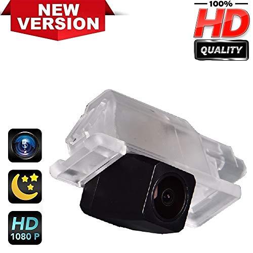 HD Fotocamera Telecamera per la Retromarcia per utilizzare alla luce Targa Retrocamera, telecamera posteriore per Peugeot 301 307 308 408 508 2008 3008 Citroen C5 C4 C Quatre 2010-2014