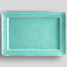 Cambria Rectangular Serving Platter - Turquoise | Pottery Barn