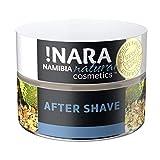 !Nara Cosmética natural orgánica Crema para después del afeitado 50 ml crema nutritiva contra el enrojecimiento de la piel y las irritaciones con efecto calmante antiinflamatorio después del afeitado