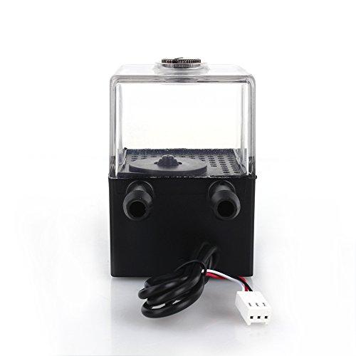 Estink Sc-300t Wasserpumpe und Pumpentank, sehr leise, 12 V DC, für die Kühlung von PC Flüssigkeit