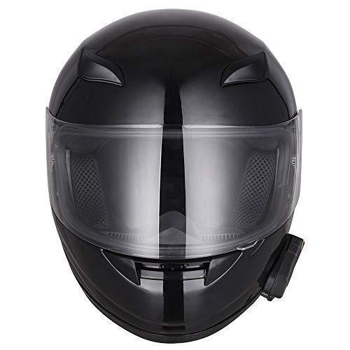 AHR Run-B Bluetooth Motorcycle Modular Helmet Full Face with Wireless Headset Hands Free Intercom MP3 FM Radio DOT