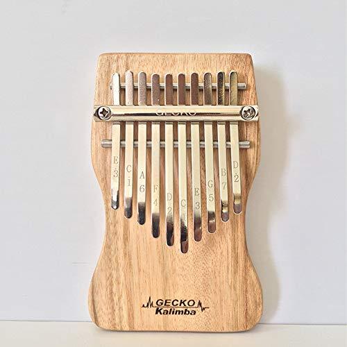 DishyKooker 10 Tasten Kalimba Daumen Klavier Finger Percussion Musik Kampfer Holz C Ton Vollpension Mbira