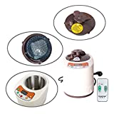 Smartmak 2L Sauna Steamer, Stainless Steel Steam Generator Pot for Home Bathrooms with Remote Control, Portable Spa Machine with Timer Display Mist Moisturizing for Body Detox(US Plug)