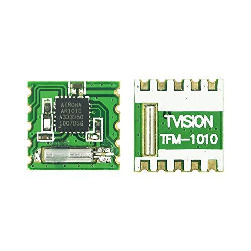 IGOSAIT 3.3V 76-108MHz de baja potencia AR1010 programable FM Radio receptor módulo reemplazar TEA5767 para Arduino