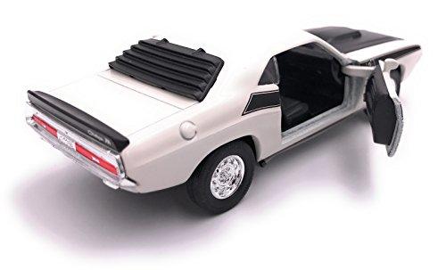 H-Customs Dodge Challenger T/A 1970 Modellauto Auto Lizenzprodukt 1:34 zufällige Farbauswahl