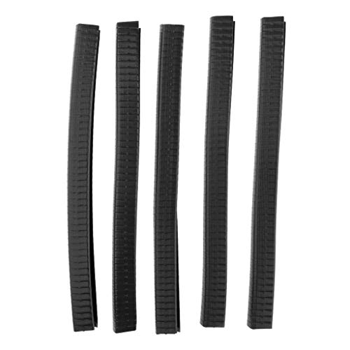 IPOTCH 5er Pack Longboards Kantensicherung Kantenschutz für Skateboards - 30 cm Schwarz